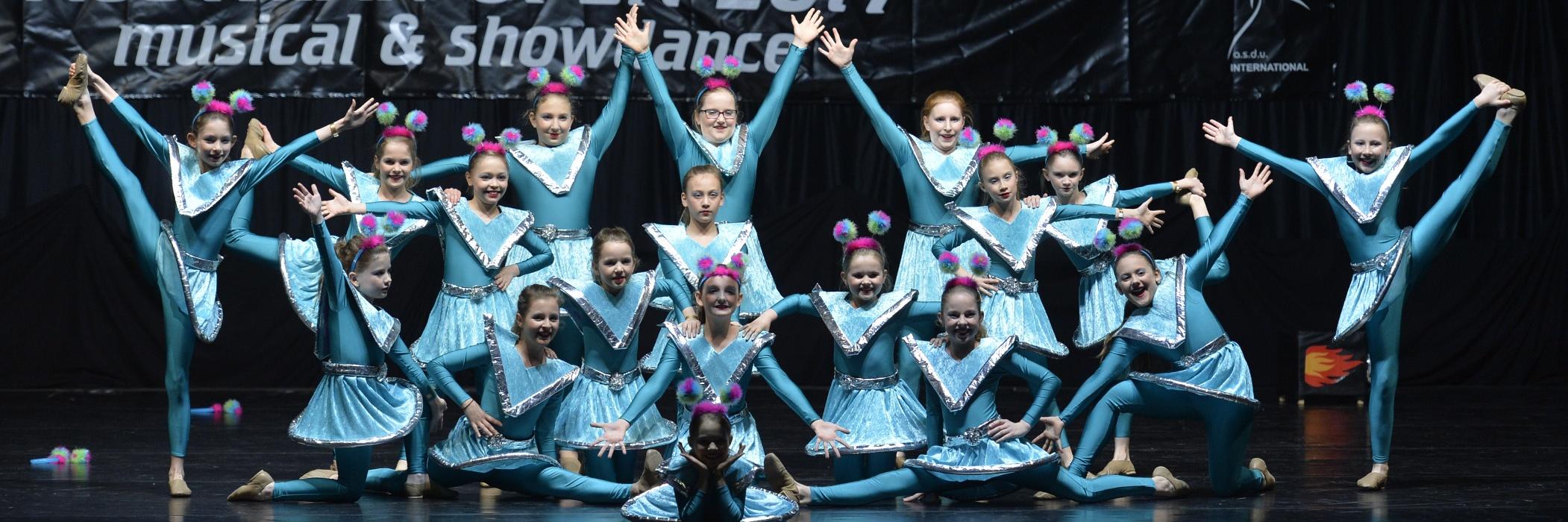 6 Tanzgruppen ab 4 Jahre aufwärts