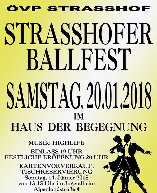 ÖVP-Ball Strasshof @ Haus der Begegnung | Strasshof an der Nordbahn | Niederösterreich | Österreich