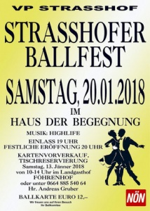 Strasshofer Ballfest @ Haus der Begegnung | Strasshof an der Nordbahn | Niederösterreich | Österreich
