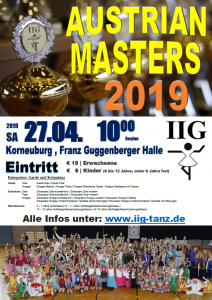 IIG Austrian Masters 2019 @ Franz-Guggenberger-Halle | Korneuburg | Niederösterreich | Österreich