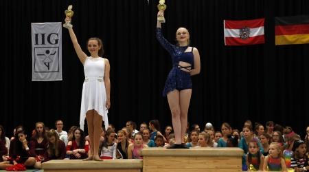 Siegerehrung - IIG Korneuburg 2019 - Hannah und Tessa (2)