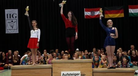 Siegerehrung - IIG Korneuburg 2019 - Josephine, GTU und Tessa (1)